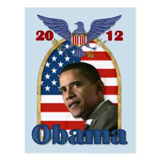 Re-Eleição Barack Obama para 2012 Cartão Postal