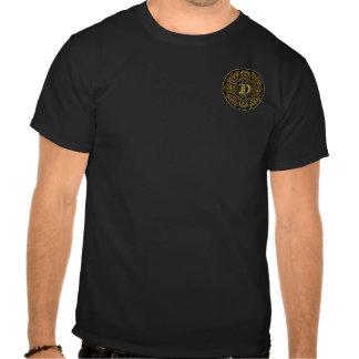 Re-Size clássico do monograma de D nenhum problema Camiseta