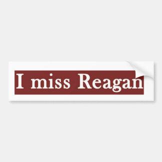 """Reagan """"MIM SENHORITA REAGAN' Adesivo Para Carro"""