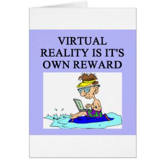 Realidade VIRTUAL Cartão