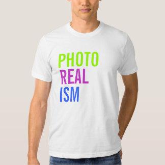 REALISMO da FOTO - personalizado Camisetas