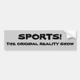 Reality show do original dos esportes adesivo para carro
