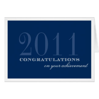 Realização elegante das felicitações dos azuis mar cartão comemorativo