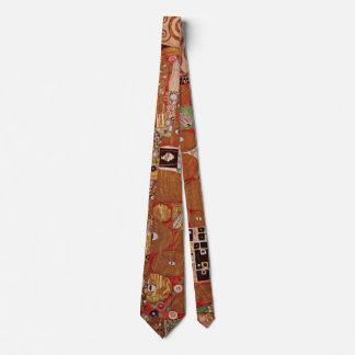 Realização por Gustavo Klimt, arte Nouveau do Gravata