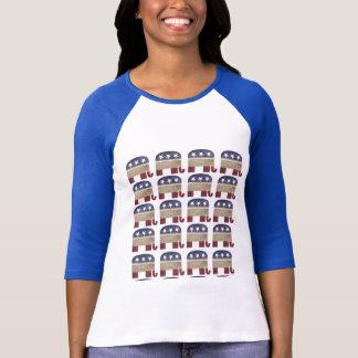 Rebanho do republicano engraçado do GOP dos Camiseta