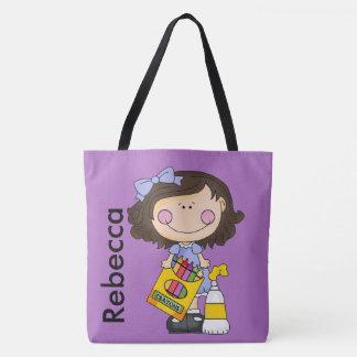 Rebecca ama pastéis bolsa tote