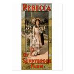 Rebecca da adaptação 1911 do palco da fazenda de S Cartao Postal