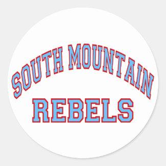 Rebeldes sul da montanha adesivo