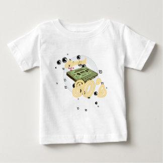 Rebobinação de volta ao anos 80 t-shirts