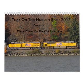 Reboquees no Rio Hudson 2017 Calendário