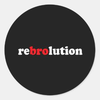 REBROLUTION ADESIVOS EM FORMATO REDONDOS