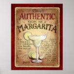 receita do margarita poster