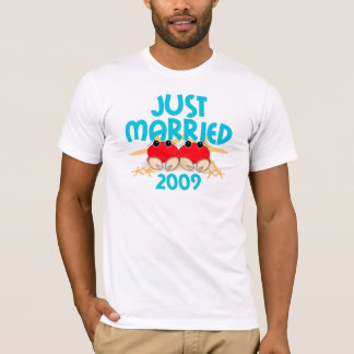 Recem casados 2009 camiseta
