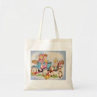 Recem casados bolsas de lona