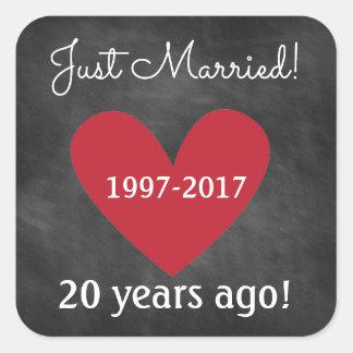 Recem casados das etiquetas | do aniversário do