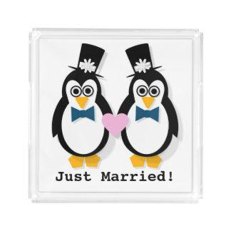"""""""Recem casados!"""" Seu & sua bandeja"""