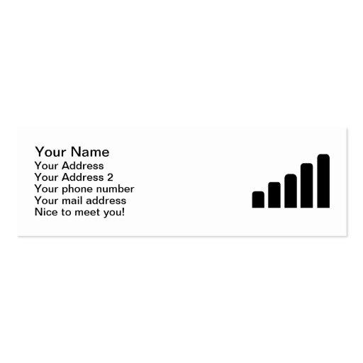Recepção móvel modelos cartão de visita