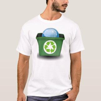 Recicl a terra camiseta