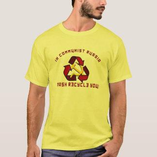 Reciclares de Rússia Camiseta