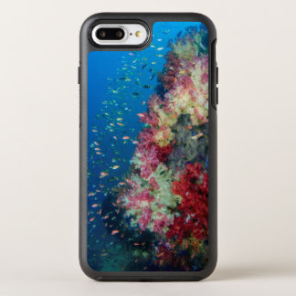 Recife de corais subaquático, Indonésia Capa Para iPhone 8 Plus/7 Plus OtterBox Symmetry