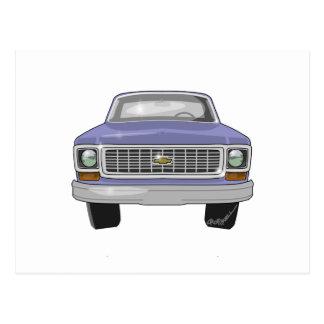Recolhimento 1974 de Chevrolet Cartão Postal