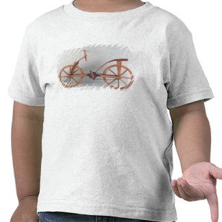 Reconstrução do design de da Vinci Camisetas