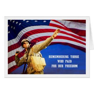 Recordando nossos cartões do Memorial Day dos
