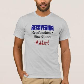 Recuperando, gabaritos comensal, viciado, Terra Camiseta
