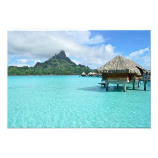 Recurso de Overwater no impressão da foto de Bora Foto