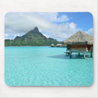 Recurso de Overwater no mousepad de Bora Bora