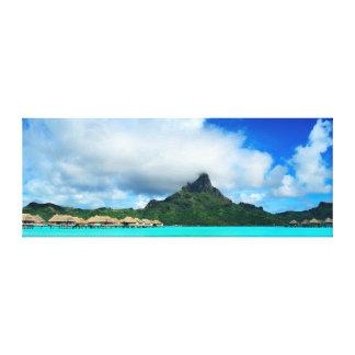 Recurso tropical no panorama das canvas de Bora