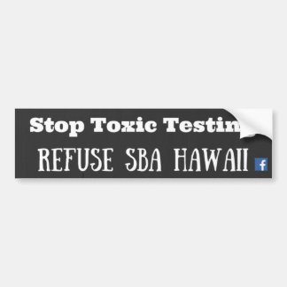 Recusa SBA Havaí Adesivo Para Carro