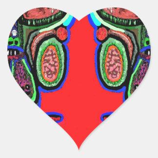 RED BULL na NUVEM NOVE: Desenhos animados do Adesivo Coração