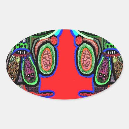 RED BULL na NUVEM NOVE: Desenhos animados do Adesivos Em Formato Oval