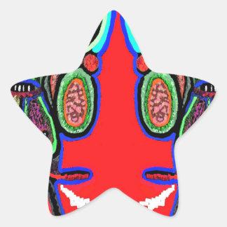 RED BULL na NUVEM NOVE Desenhos animados do Adesivo Estrela