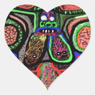RED BULL na NUVEM NOVE: Desenhos animados do Adesivo De Coração