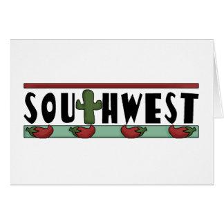 Red Hot Chili Peppers - sudoeste americano Cartão Comemorativo