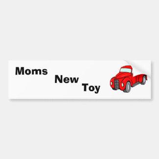 red_pick-up_truck, mães, brinquedo, novo adesivo para carro