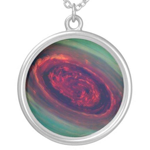 Red Storm gigantesco no planeta Saturn Colar