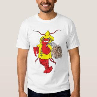 Rede da lagosta camiseta