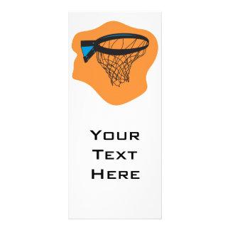 rede do basquetebol panfleto informativo