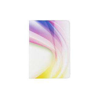 Redemoinho abstrato 1 capa para passaporte