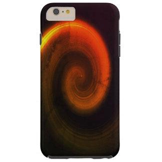 Redemoinho abstrato capa tough para iPhone 6 plus