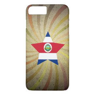Redemoinho da bandeira de Rican da costela do Capa iPhone 7 Plus
