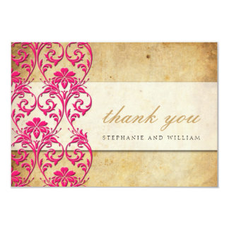 Redemoinho do vintage que Wedding cartões de Convite 8.89 X 12.7cm