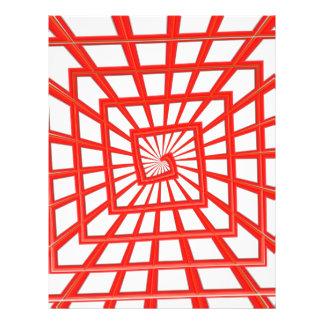 redemoinho lustroso vermelho modelos de panfleto