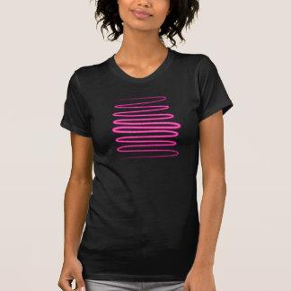 redemoinho roxo do brilho camisetas