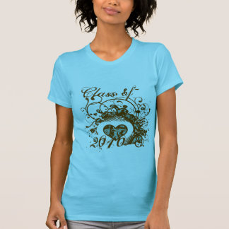 Redemoinhos 2010 voados Grunge do coração do Camisetas