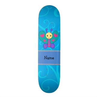 Redemoinhos conhecidos personalizados do azul da b skate boards