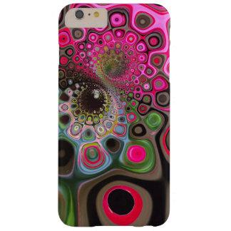Redemoinhos de capas de iphone cor-de-rosa e